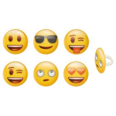 Decorings Emoji Mood Asst 12CT
