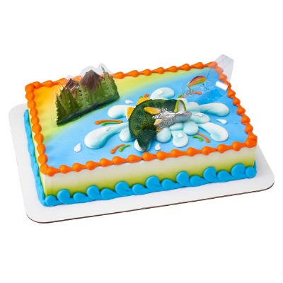 Decoset Catching the Big One Fishing Cake Topper