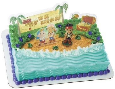 Decoset Pirates Jake Way to Go Cake Topper