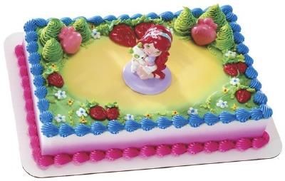 Decoset Strawberry & Friends Cake Topper
