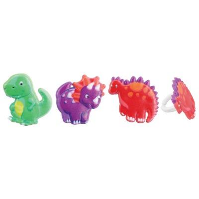 Dino Pals Cupcake Rings 12 CT
