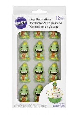 Dino with Gumdrop Icing Decoration