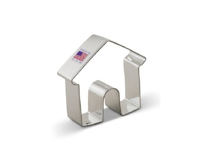 "Dog House 3"" Cookie Cutter"
