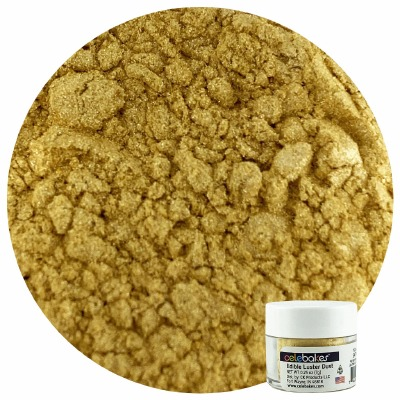 Edible Luster Dust Satin Gold