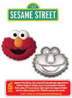 Wilton Elmo Face Sesame Street Cake Pan