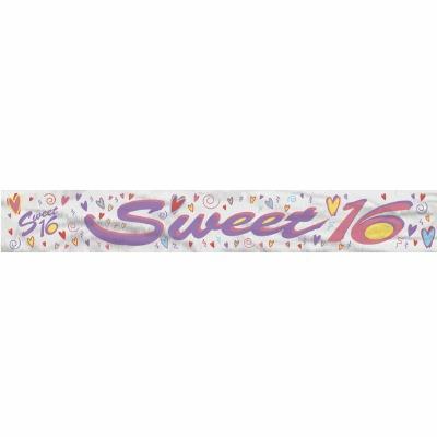 Foil Banner Sweet 16