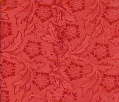 Foil Roll Poly Embossed Cardinal Red