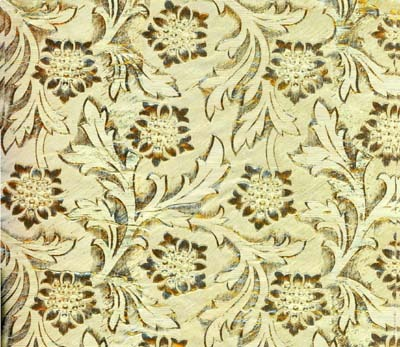 Foil Roll Poly Embossed Gold