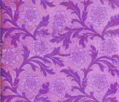 Foil Roll Poly Embossed Orchid