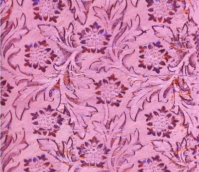 Foil Roll Poly Embossed Pink