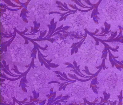 Foil Roll Poly Embossed Purple