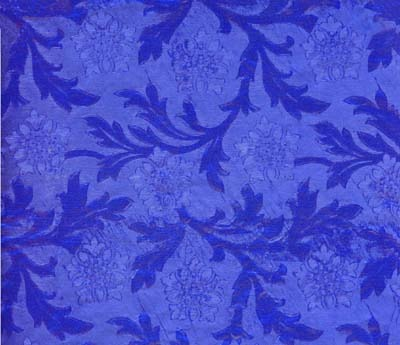 Foil Roll Poly Embossed Royal Blue