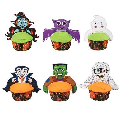 Freaky Friends Cupcake Pix 6ct