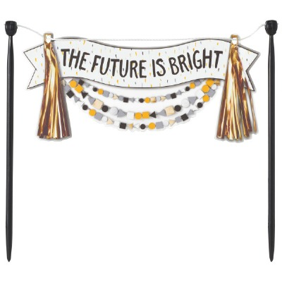 Future is Bright Banner Layon