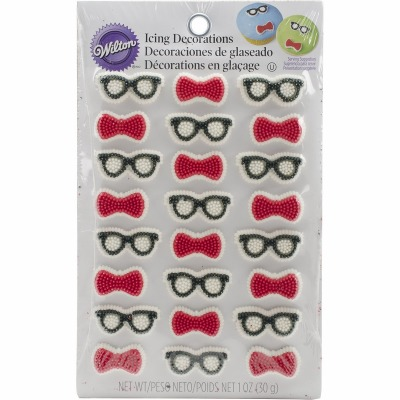 Geek Icing Decoration 24 PC