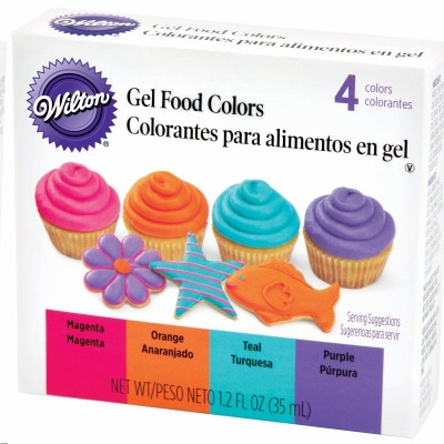 Gel Food Colors Neon