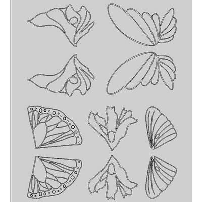 Gelatin Sheet-Fairy #1