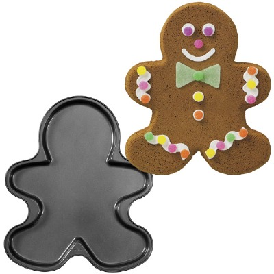 Giant Non-Stick Gingerbread Boy Cookie Pan