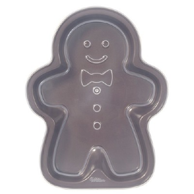 Gingerbread Boy Covered Pan