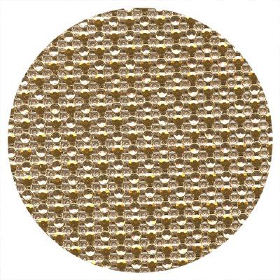 Cake Ribbon Dots Gold/Silver