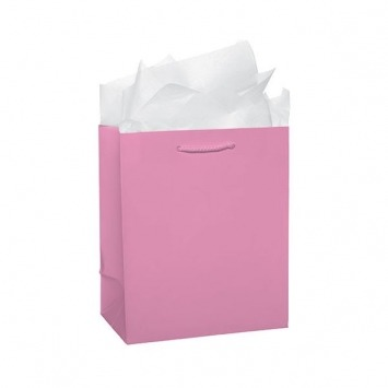 Glossy Medium Bag - Pink