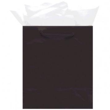 Glossy Mini Bag - Black