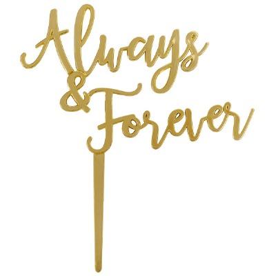 Gold Always & Forever Pick