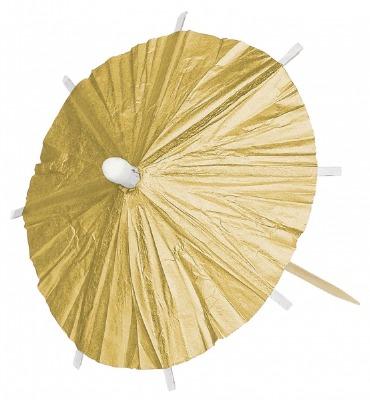 Gold Parasol Picks 120 CT