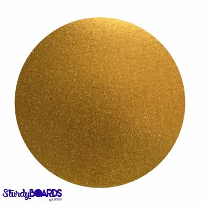 "Gold Sturdy Board Round 12"""