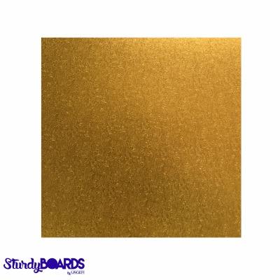 """Gold Sturdy Board Square 10"""""""