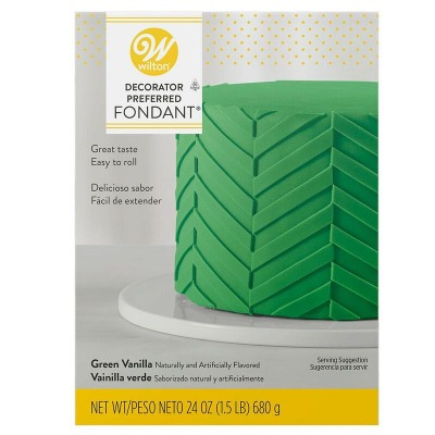 Wilton Green Fondant 24 OZ
