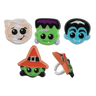 Halloween Characters Ring12 CT
