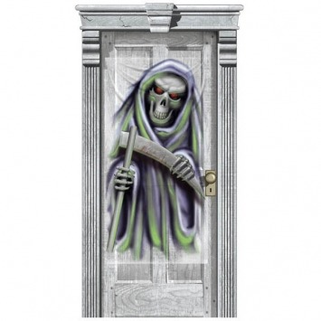 Halloween Gore Door Cover