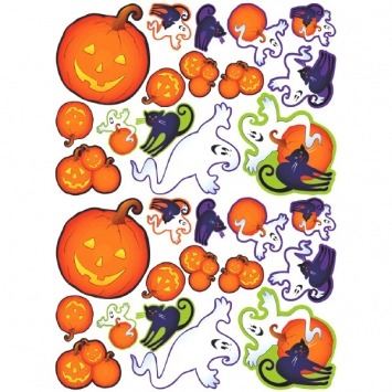 Halloween Mega Cutout 30-PC