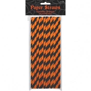 Halloween Printed Straws