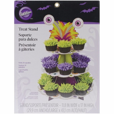 Hallowen Eyeballs Treat Stand