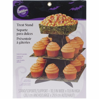 Hallowen Treat Stand With Bowl