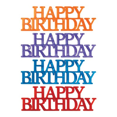 Happy Birthday Script Asst. 4
