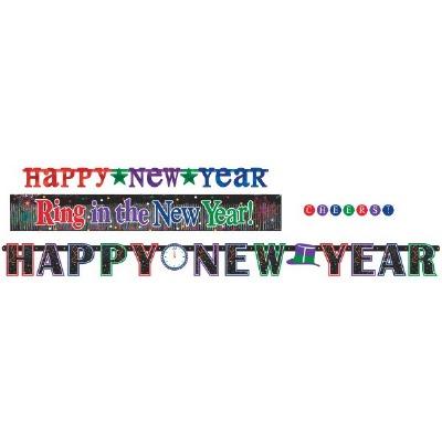Happy New Years Banner Kit