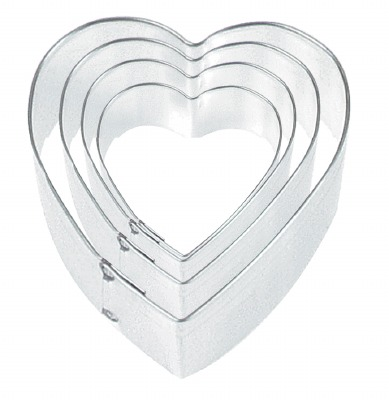 "Heart 2.5"" Cookie Cutter"