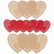 Heart Doilies  Asst Pk 12 CT