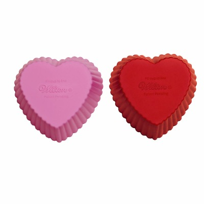 Heart Silicone Baking Cup 12CT