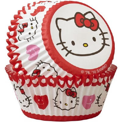 Hello Kitty Baking Cups 50 Count