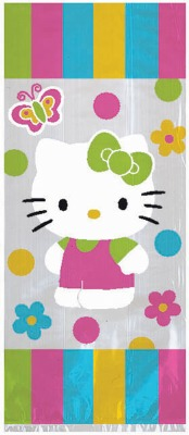Hello Kitty Lg Party Bags 8 CT