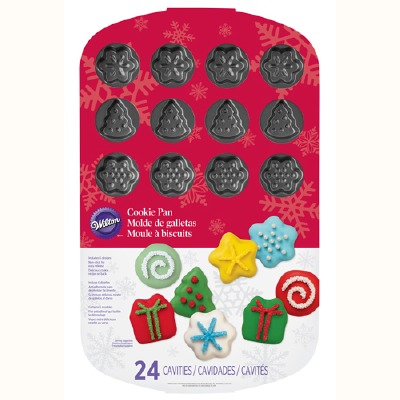 Holiday Shapes Cookie Pan 24