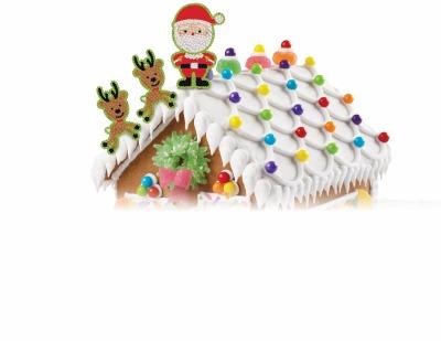 Icing Decoration Santa & Elves
