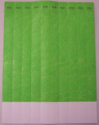 "ID Band 3/4"" Neon Green 100 CT"