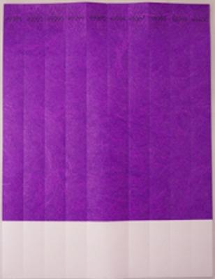 """ID Band 3/4"""" Purple 100 CT"""