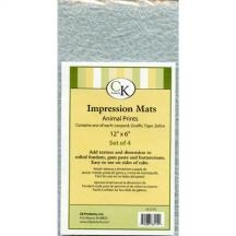 Impression Mat Animals 4 CT