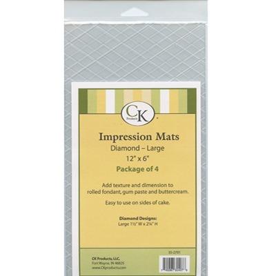 Impression Mat - Lg Diamond